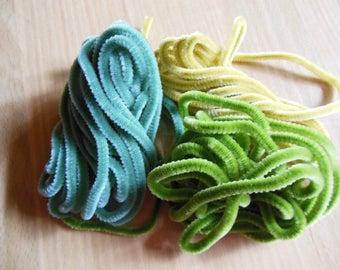 Soft chenille cord