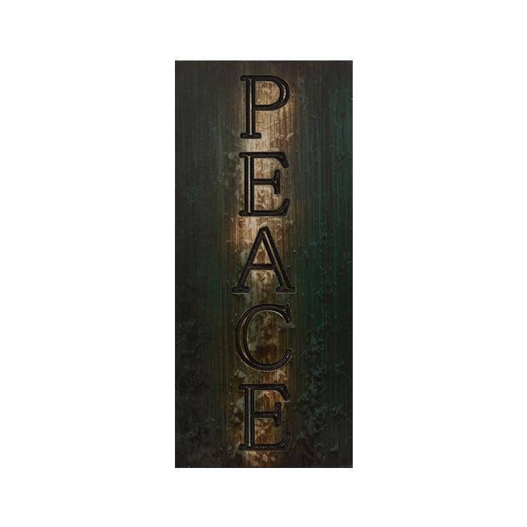 Peace Sign, Home Decor, Christmas Decor, Wall Art, Inspirational Sign,  Homewarming Sign, Custom Wall Sign, Wall Hanging, Custom Wall Decor