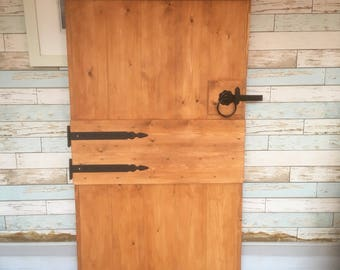 Rustic Kitchen Stable Door
