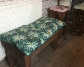 Solid Wooden Bench (3 seater)
