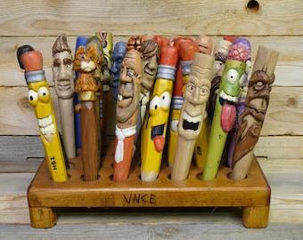 Personalized pencil / Costum wooden pen