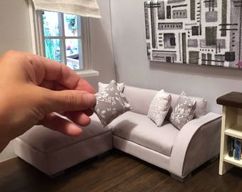miniature modern furniture. plain modern 112 scale miniature sofa modern and unique furniture for any dollshouse  or box and furniture
