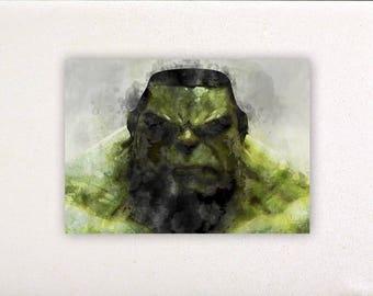 Hulk - Superheroes prints, superheroes posters, nursery decor, nursery wall art, wall decor, wall prints | Tropparoba - 100% made Italy