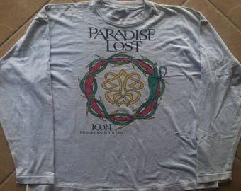 Vintage Paradise Lost Icon European Tour LS Shirt 94