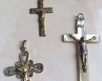 Set of 3 cross