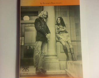 The Abortion: An historical romance 1966 - by Richard BRAUTIGAN - 1970 vintage book - vintage rare book