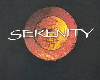 Firefly Serenity T Shirt Size XL