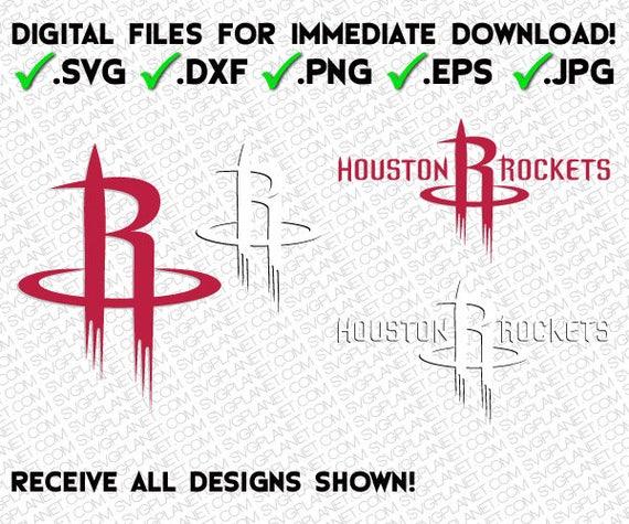 Find It Houston: HOUSTON ROCKETS Svg Logo 5 File Formats Svg Dxf Png Eps