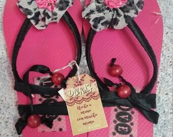 Hand-woven craft summer sandals