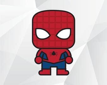 Spiderman svg,png,jpg,eps/Spiderman clipart for Print,Design,Silhouette,Cricut and any more
