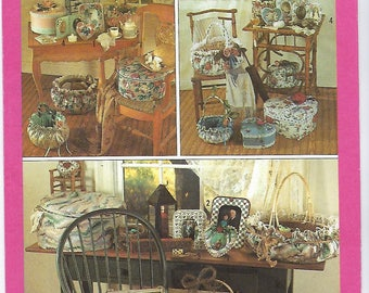 Simplicity 9471 - Fabric Frames, Covered Boxed & Baskets
