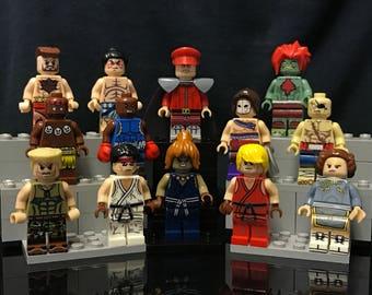 Street Fighter | 13x | Custom Minifigure Set