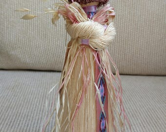 Native American Hand Crafted Doll by Rags N Dolls