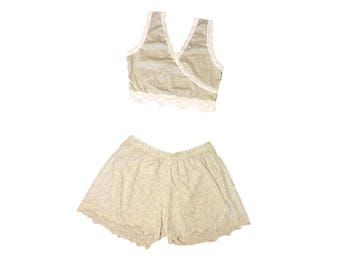 ORGANIC Bralette & Shorts Set