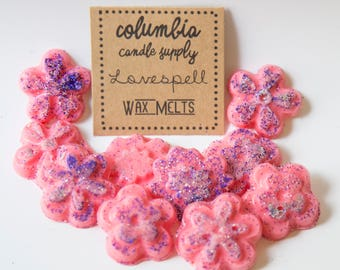 Love Spell Wax Melts (Set of 10 Small Tarts)