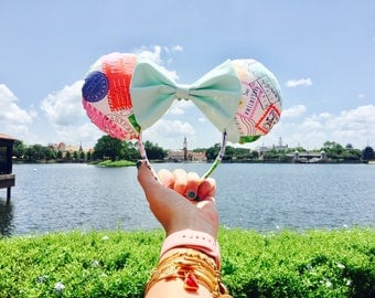 Epcot Passport Stamp Minnie Mouse Ears