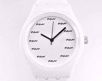 Real Now Watch White