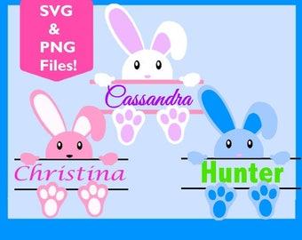 Peeking Easter bunny SVG, Easter svg, Easter bunny svg, svg files for silhouette, cricut explore, easter basket svg,svg easter,clipart
