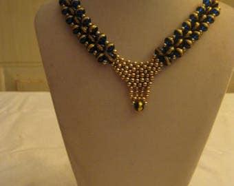 Blue Queen necklace