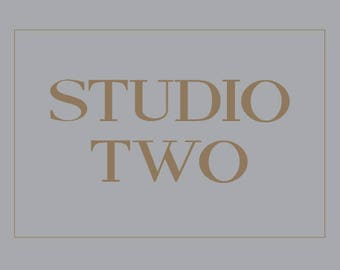 Studio Two, Yoga Studio Sign, Yoga Sign, Yoga Gift Yoga Studio Sign