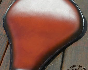 Handmade Bobber Long Seat Tan