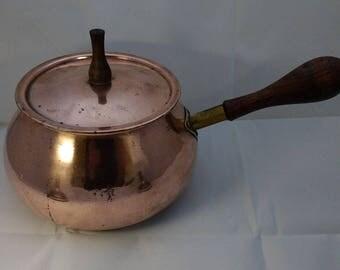 Retro Copper cooking pot