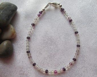 Rainbow Fluorite Bracelet
