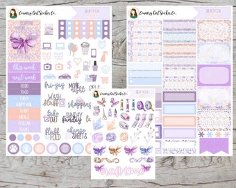 Crafty Gal ALC Options | Premium Matte Planner Stickers | Erin Condren Vertical