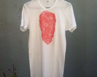 Red old face Tee