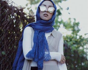 Luxury Lace ocean blue