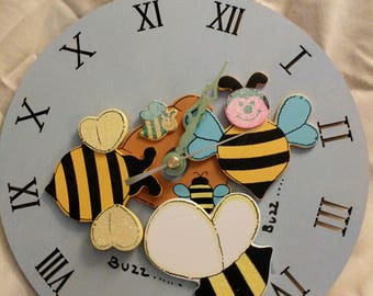 Baby or children clock