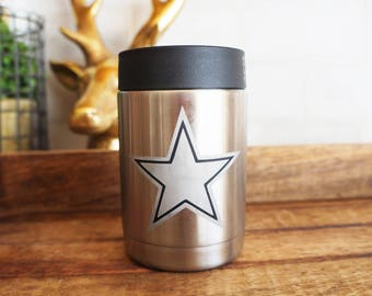 Dallas Cowboys Yeti Colster or Tumbler ( RTIC or Ozark Trail )