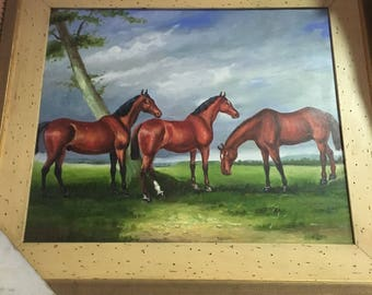 Tres Caballos / Three Horses