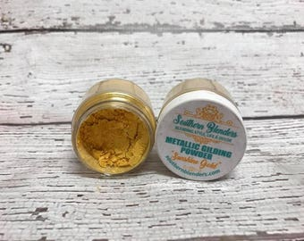 Southern Blenders Gilding Powder in Sunshine Gold (bright yellow gold)