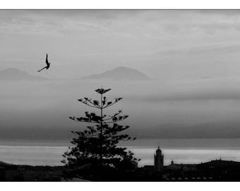 Fine Art Photography Bay Ajaccio BW print 30 x 45 signed and numbered