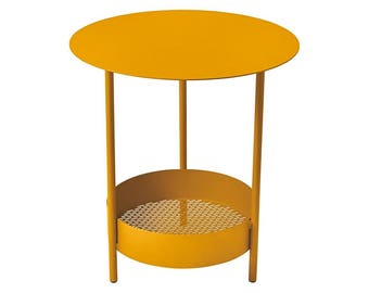 Colorful Patio End Table   Fermob Salsa Outdoor Side Table