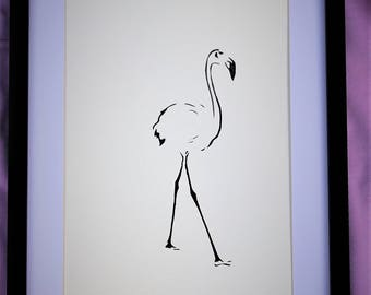 Flamingo - Out for a Stroll