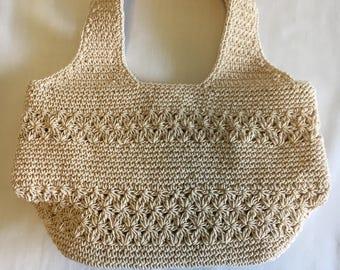 Beige hand bag, Isn't it cute !