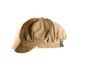 Newsboy Cap, Organic Cotton