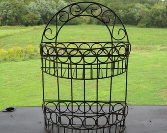 Vintage Cast Iron Multi-Purpose Rack