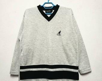 Vintage Kangol Small Logo Sweater Sweatshirt