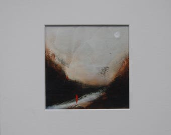 Original Irish Art – Colours of Dawn – Eoin Cassidy – Acrylic on paper