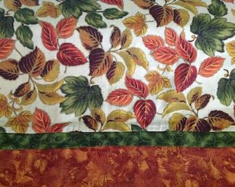 Autumn leaves pillowcase