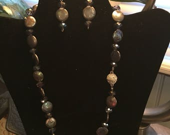Copper pearls and copper crystals