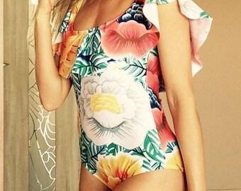 Sale!One Piece Swimsuit, one piece swimwear, One Piece Bathing Suit, One piece swimsuits, Womens Leotard, bikini, Womens Swimsuit