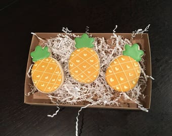 Pineapple sugar cookies