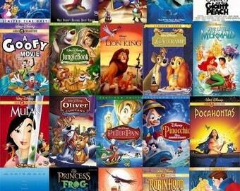 Disney Classics CUSTOM PAINTED SHOES!