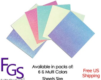 Dicro Slide Sample Kit Dichroic Fusible Paper