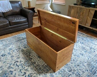 Handcrafted Wooden Chest