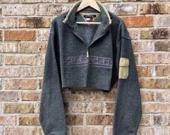 Vintage Tommy Hilfiger crop top sweater cropped